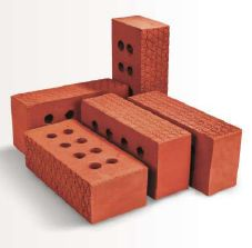 Embossed Bubble Clay Bricks