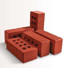 Embossed Leaf Clay Bricks
