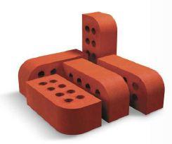 N Cut Round Clay Bricks