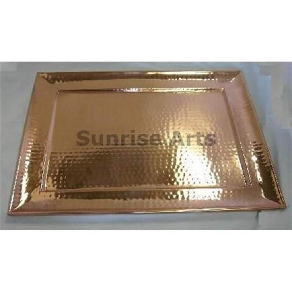 Copper Bar Serving Tray