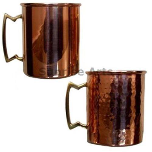 Plain Straight Copper Mug