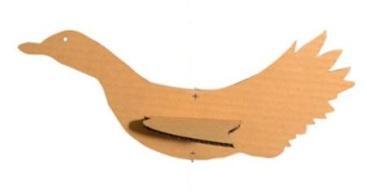 Cardboard 3D Bird Toy Set