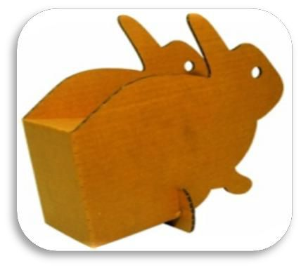 Cardboard 3D Animal Toy Set