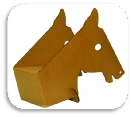 Cardboard 3D Animal Toy Set
