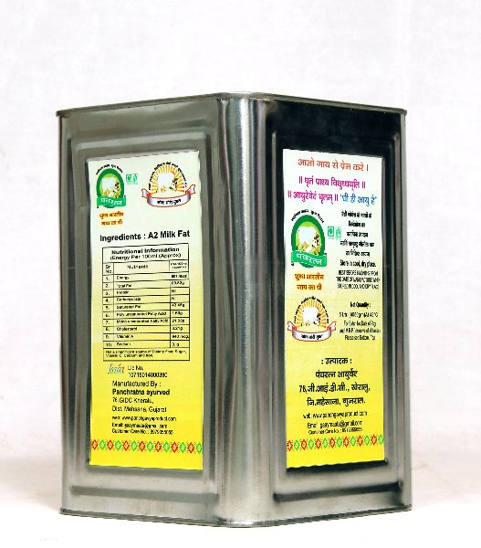 5 Litre Pure Cow Ghee