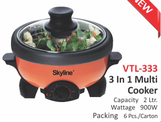 3 In 1 Multi Cooker