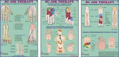 Sujok Therapy Chart