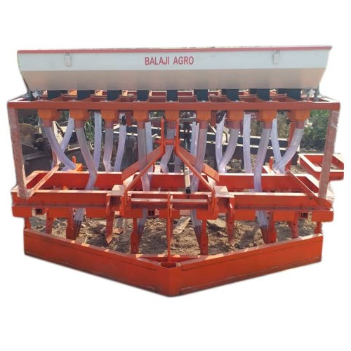 Mild Steel Seed Cum Fertilizer Drill
