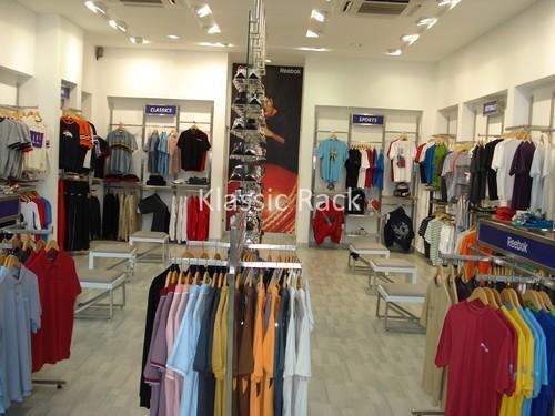 Heavy Duty Garment Display Rack