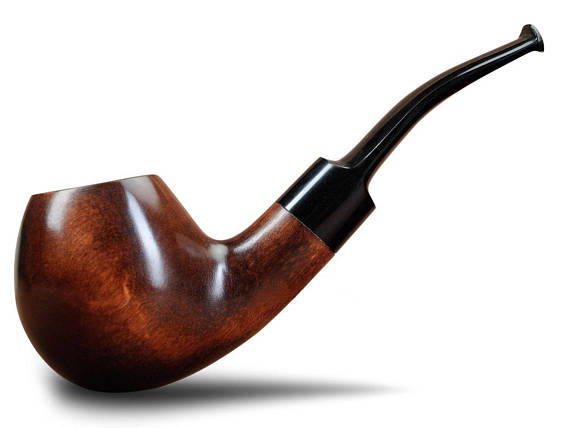 Wooden Sherlock Smoking Pipe