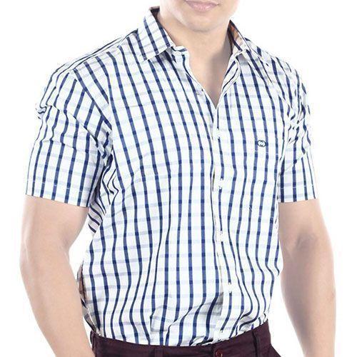 Mens Half Sleeve Casual Shirts