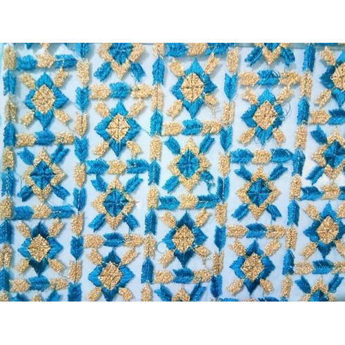 Cotton Embroidered Fabric
