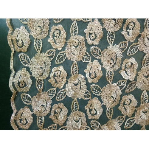 Floral Net Fabric