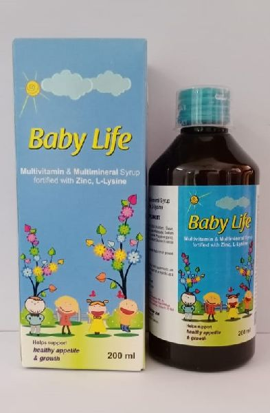 Baby Life L-lysine Syrup
