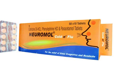 Neuromol Cold N Flu Tablet