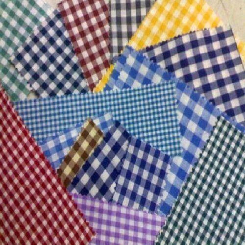School Uniform Check Fabric