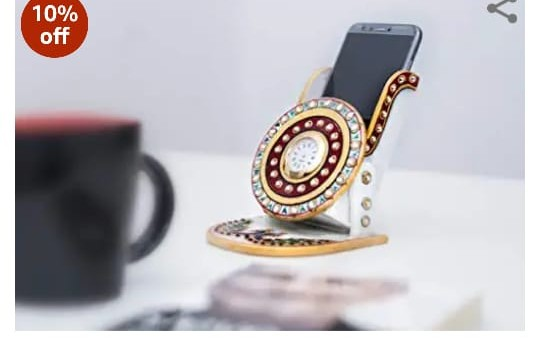 Wooden Mobile Stand