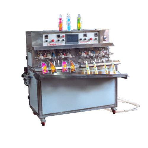 Fruit Juice Filling and Sealing Machine