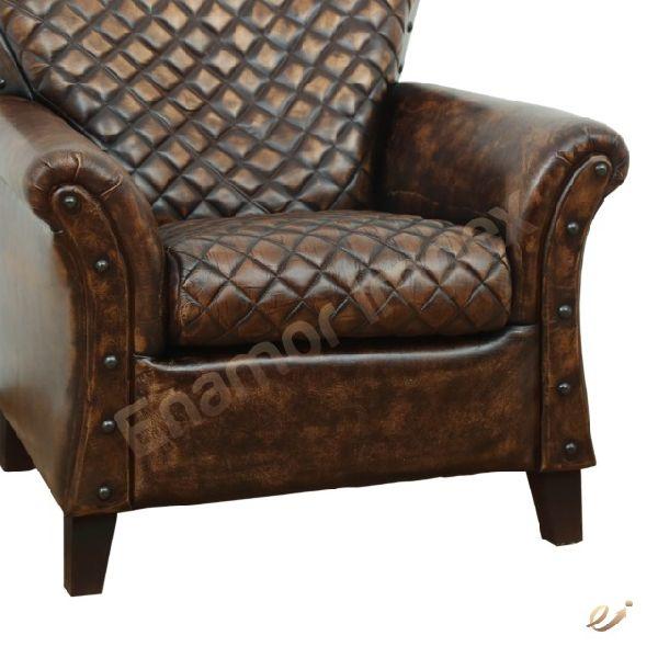 Leather Sofa (EMI-1505)