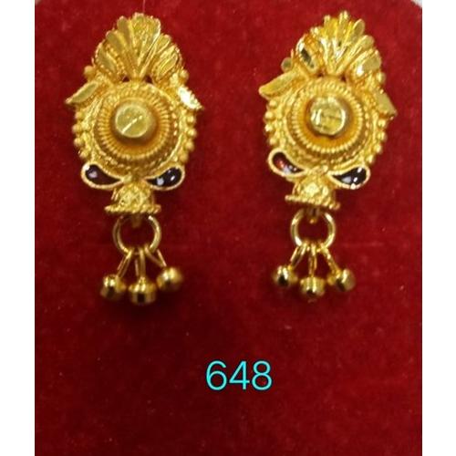Brass Traditional Earrings