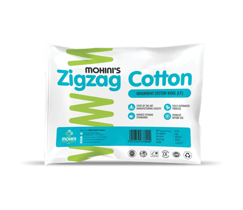 Zig Zag Cotton Wool
