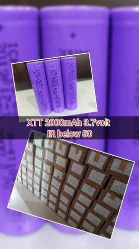 2000Mah Lithium Ion Battery