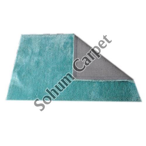 Blue Shaggy Carpet