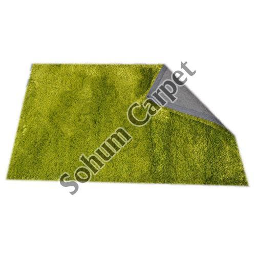 Green Shaggy Carpet