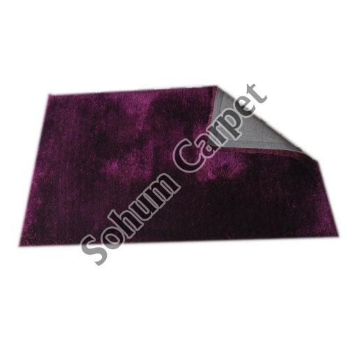 Purple Shaggy Carpet