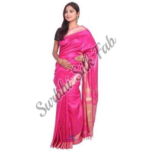 Indian Tissue Linen Saree