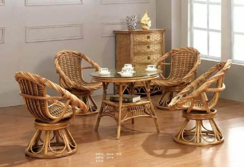 Bamboo Tea Table Set