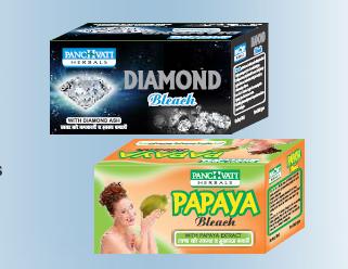 Panchvati Diamond & Papaya Bleach Combo