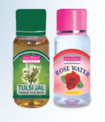 Panchvati Rose & Tulsi Water Combo
