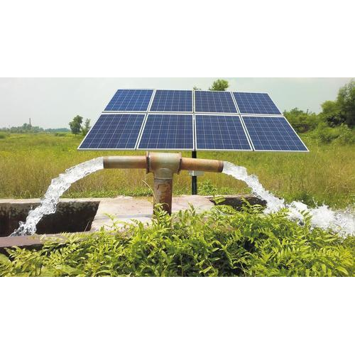 Solar Water Pump with Solar Panel