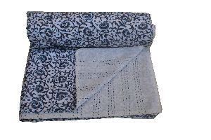 Double Bed Cotton Kantha Quilt 02