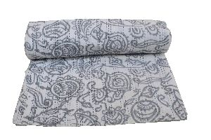 Double Bed Cotton Kantha Quilt 04