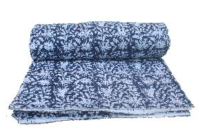 Double Bed Cotton Kantha Quilt