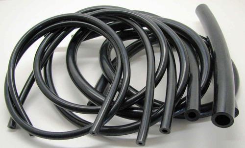 Black Viton Rubber Tubes