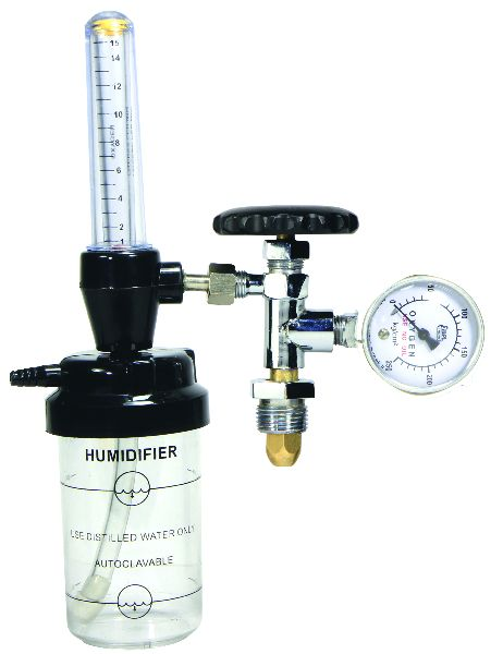 Slim Type Flow Meter with Humidifier Bottle