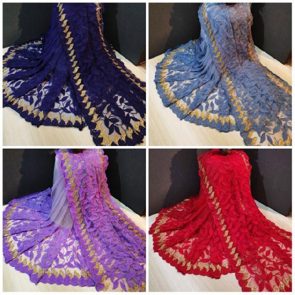 Designer Butterfly Net Saree