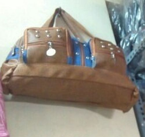 Ladies Brown Handbag
