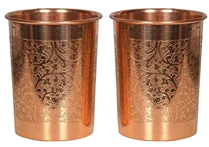 Copper Designer Glass