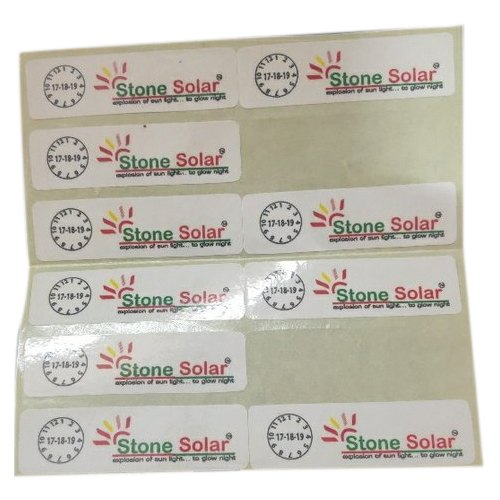 Printed Polyester Label