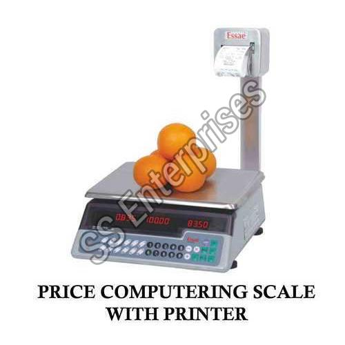 Price Computing Scale with Printer