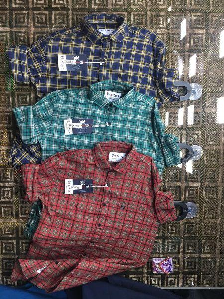 Mens Check Casual Shirts