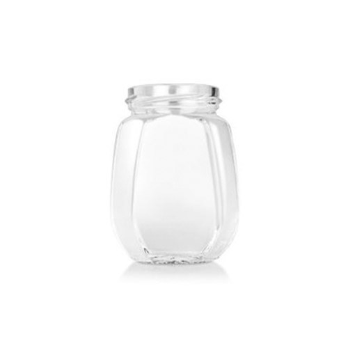 Honey Glass Jar (Hexagonal 250 ml)