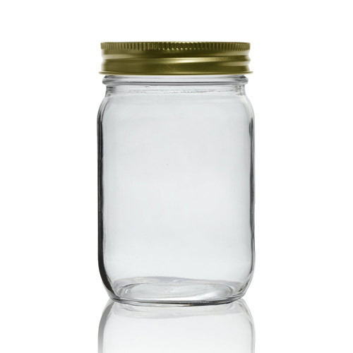 Honey Glass Jar (Round 250 ml)