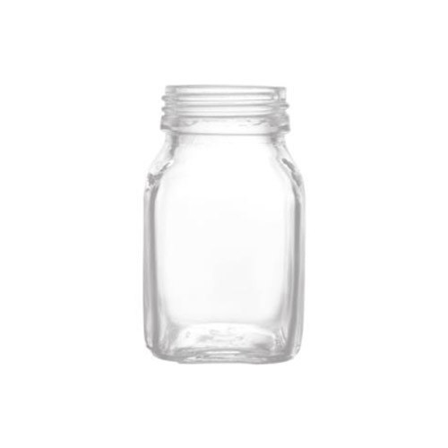Honey Glass Jar (Square 100 ml)
