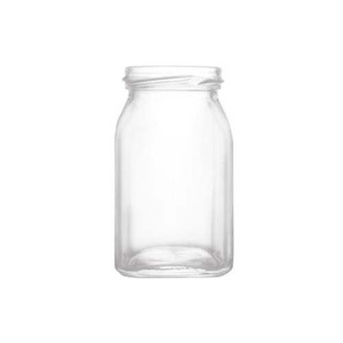 Honey Glass Jar (Square 250 ml)