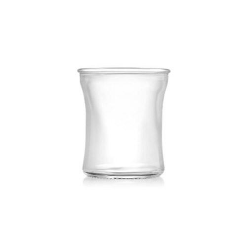 Plain Curved Glass Jars